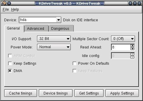 drivetweak-kde